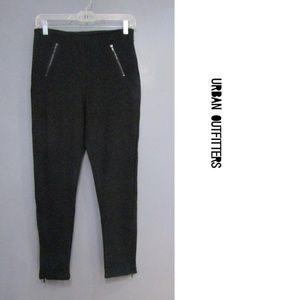 NEW UO Cooperative Black Textured Zip Leggings 4